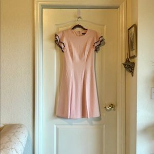 Tommy Hilfiger pink and black designer dress new